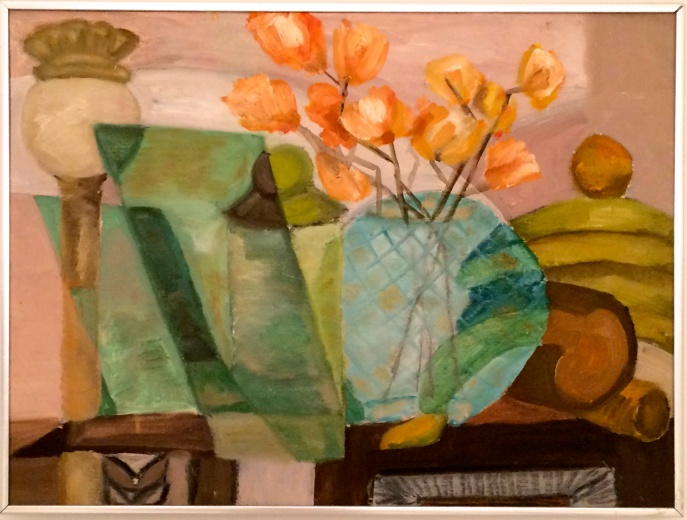 Stuff in the Living-Room (after Braque)
